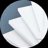 פלפום PVC מוקצף קל משקל